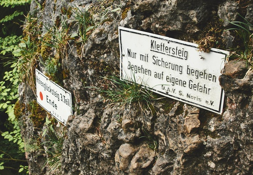 Klettersteig Höhenglücksteig : Höhenglücksteig auf der hersbrucker alp klettersteig youtube