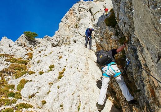 Friedberger Klettersteig : Klettern klettersteige friedberger klettersteig